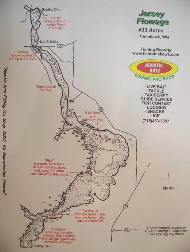Tomahawk Wisconsin Map.Lake Maps